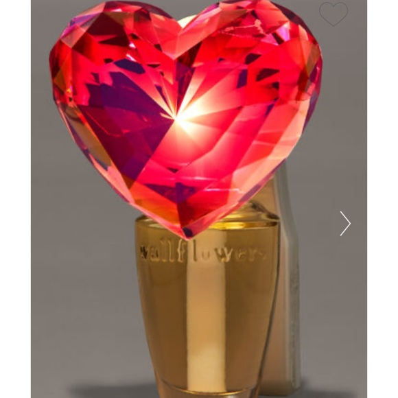 Heart Wallflower Plug In Bath and Body Works